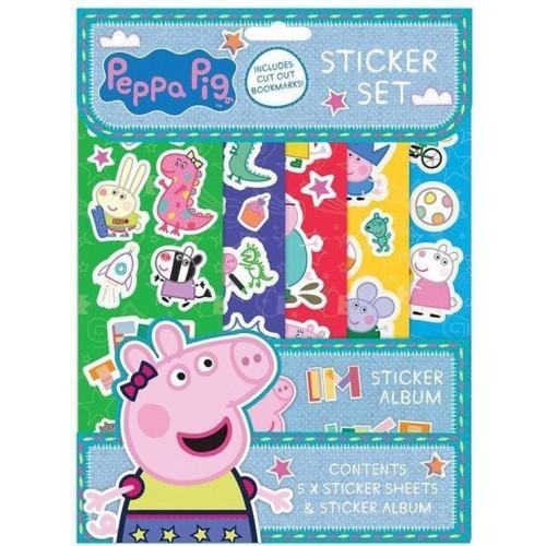 Peppa Pig sticker set 5 vellen