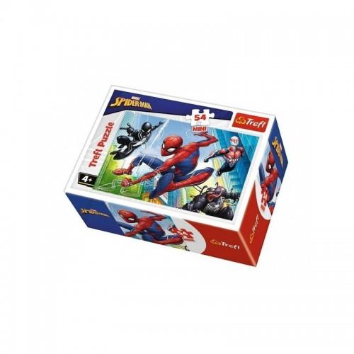 Marvel Spider-man mini puzzels 2 stuks 54 stukjes 4+