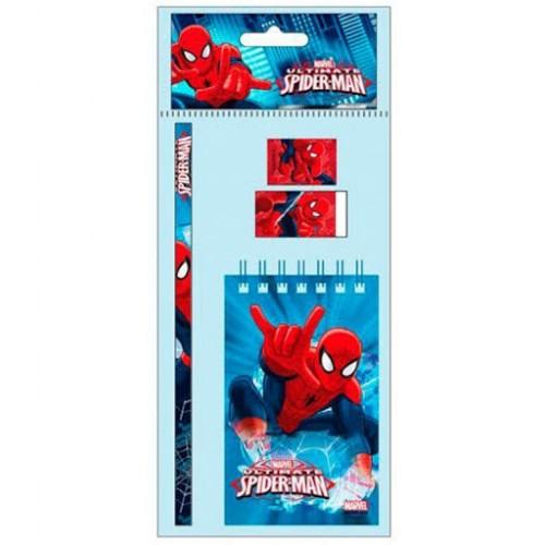 Marvel Spider-man schrijfset 4-delig