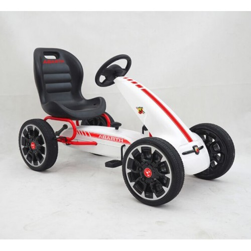 Fiat Abarth Skelter Wit/Rood