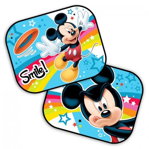 Auto Zonnescherm van mickey mouse