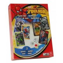 Spiderman Spellenbox 3 in 1-Duel spel-Actiespel en Kwartetspel