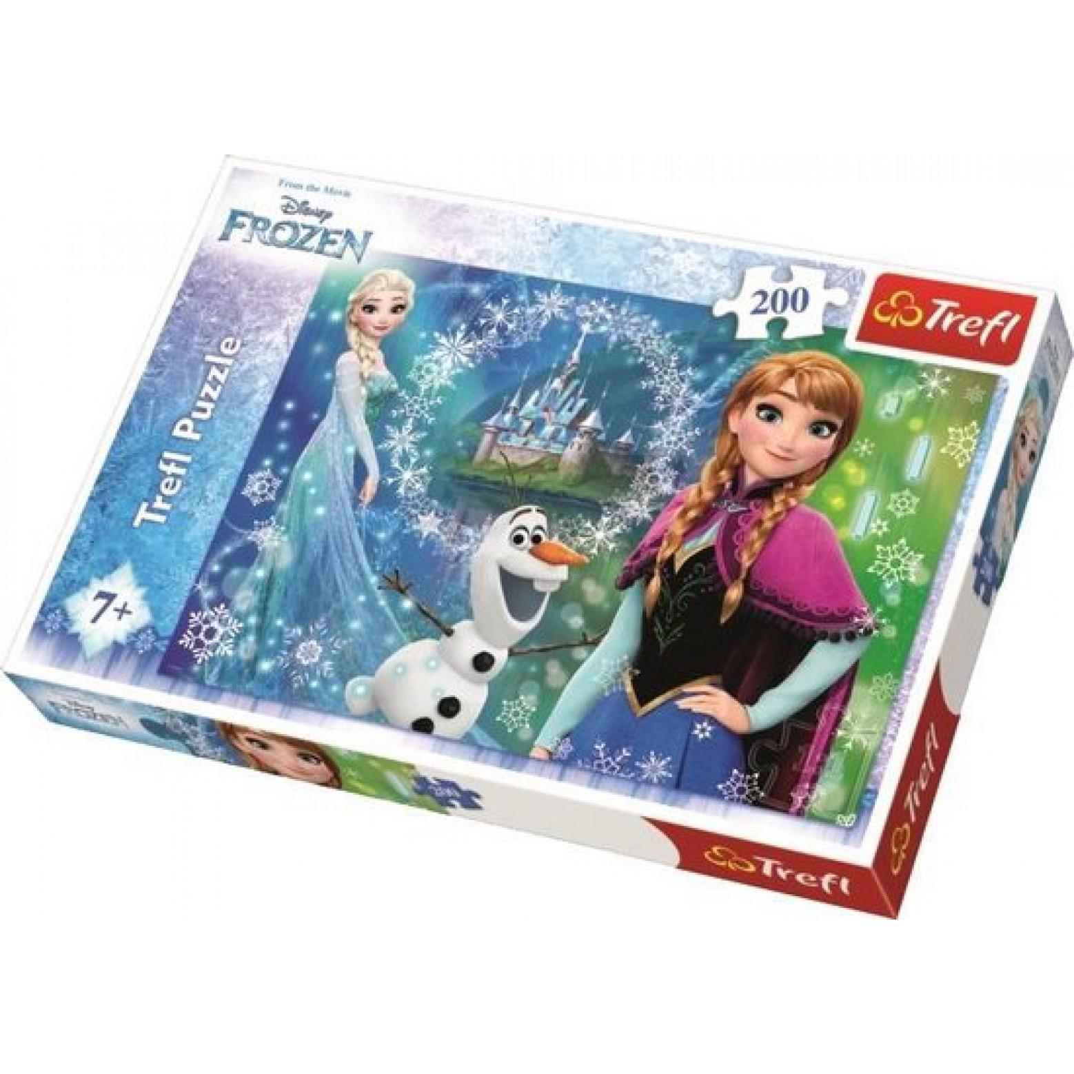 Frozen puzzel 200 stukjes