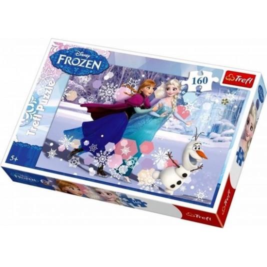 Frozen puzzel 160 stukjes