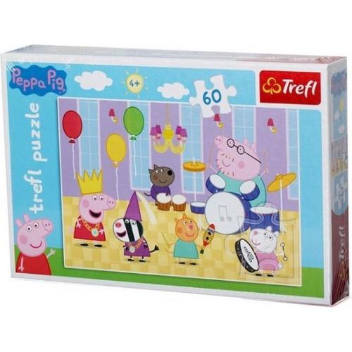 Peppa Pig mini puzzel 60 stukjes