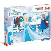 Disney Frozen Maxi puzzel 24 stukjes  62x42 cm