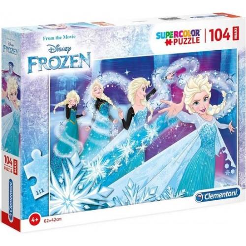 Disney Frozen Maxi puzzel 104 stukjes  62x42 cm