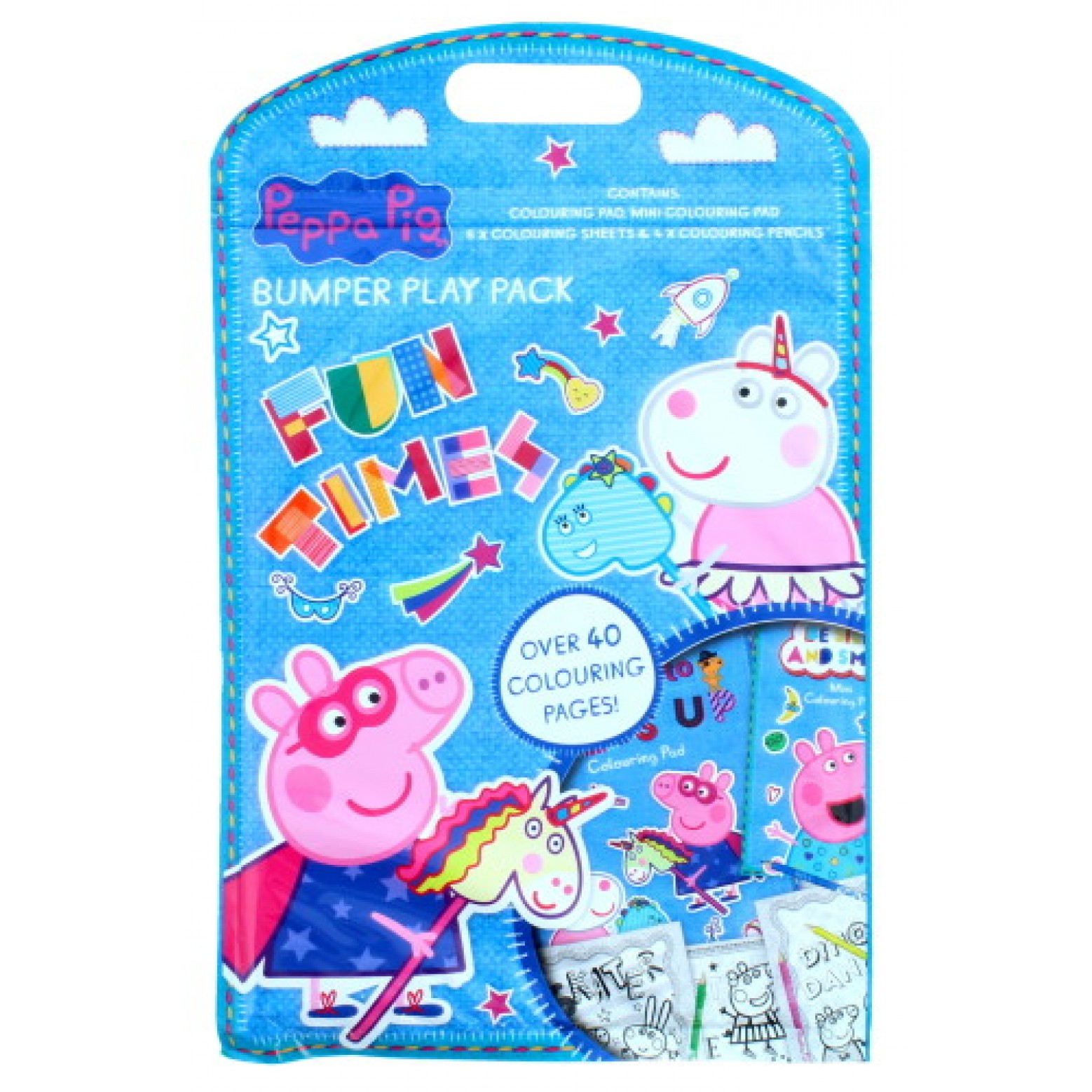 Peppa pig kleur set smile