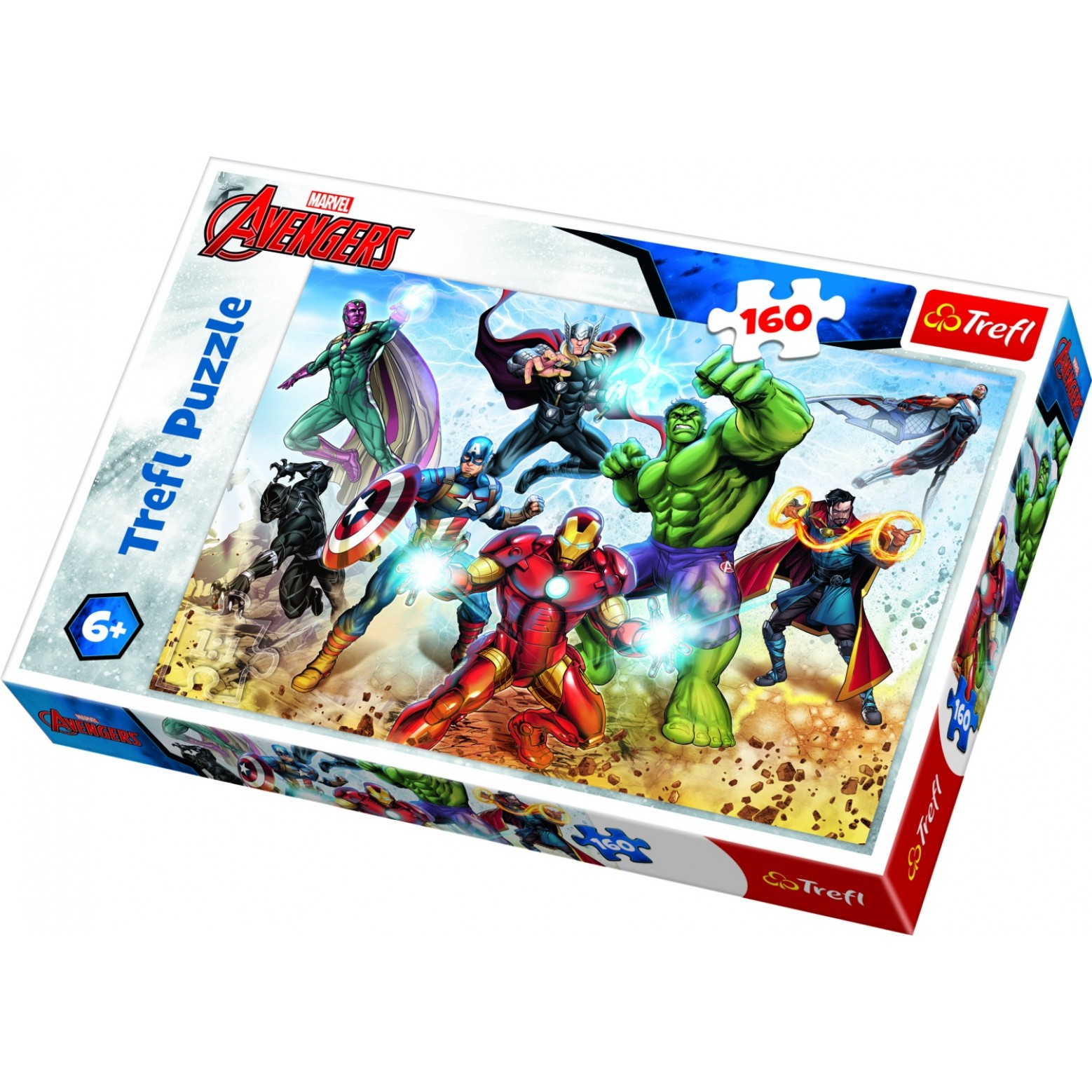 Marvel Avengers puzzel 160 stukjes 6+