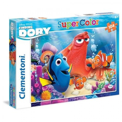 Finding Dorey puzzel 104 stukjes 6+