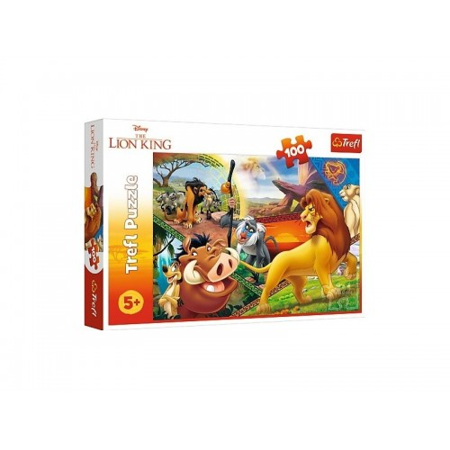The Lion King puzzel 100 stukjes 5+