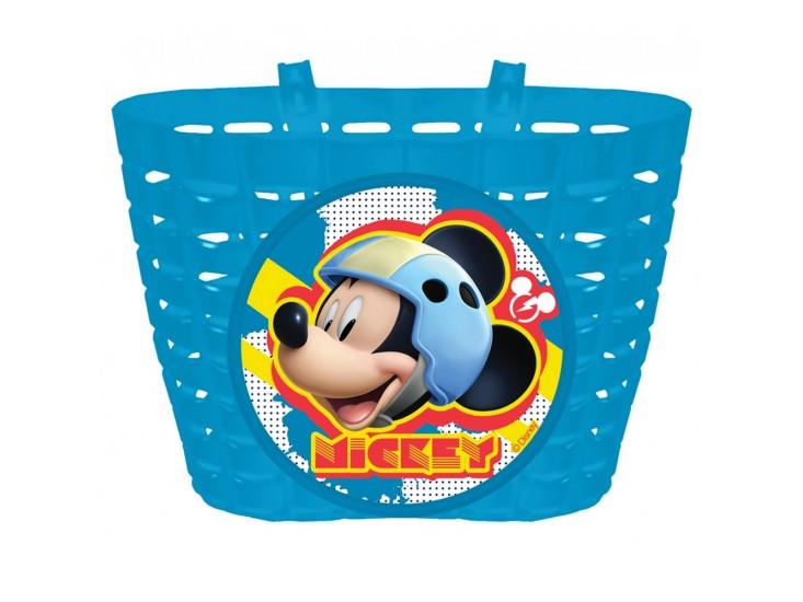 Mickey mouse fietsbel,mandje en windmolen