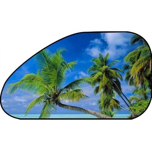 Auto zonnescherm strand 65 x 38
