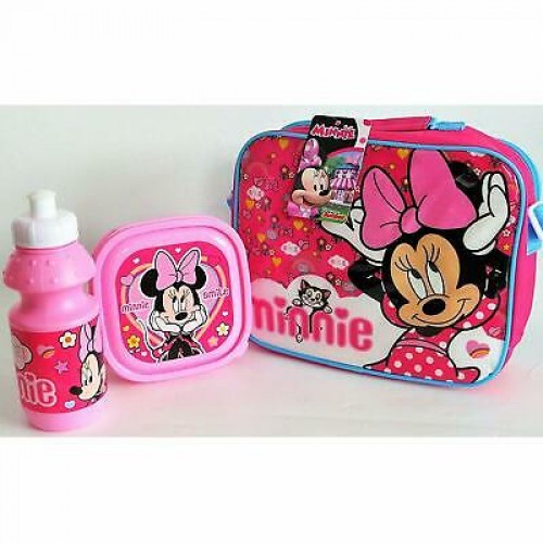 Minnie mouse 3-delig lunchset