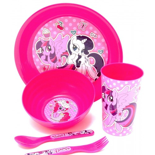 My Little pony 5-delig ontbijtset